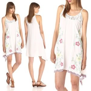 Floral Embroidered & Lace Detailed Dress NWT